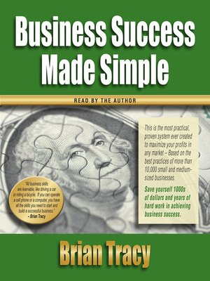 Personal success made simple brian tracy pdf