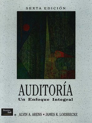 Auditoria un enfoque integral alvin arens