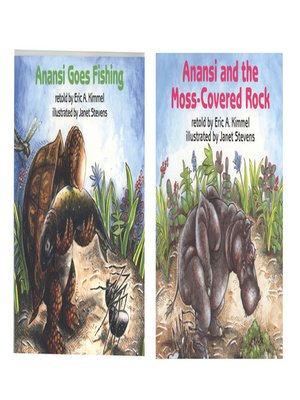 Anansi and the moss covered rock anansi goes fishing by for Anansi goes fishing