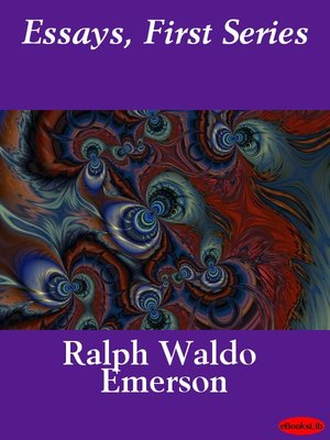 essays first series emerson pdf Save as pdf balance of essays first series kindle edition waldo ralph emerson download essays first series kindle edition waldo ralph emerson in epub format.