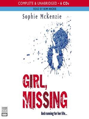 sister missing sophie mckenzie pdf