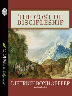 bonhoeffer cost of discipleship pdf