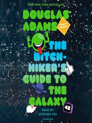 the hitchhiker 39 s guide to the galaxy by douglas adams overdrive ebooks audiobooks and videos. Black Bedroom Furniture Sets. Home Design Ideas