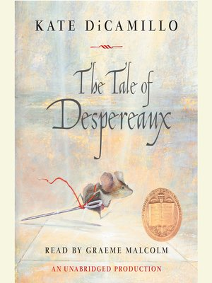 Kate Dicamillo The Tale Of Despereaux Kate DiCamillo ...