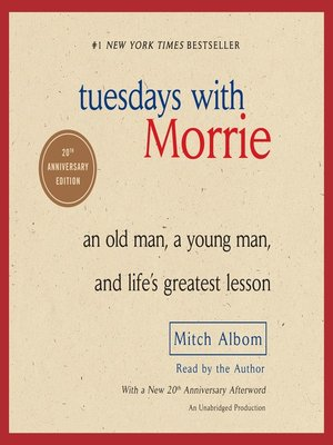"life lessons mitch learned in tuesdays with morrie A young man and life's greatest lesson"" as tuesdays with morrie, mitch tuesdays with morrie is about death, but what we learn about is much more."