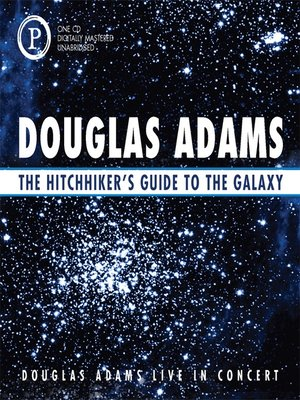 the hitchhiker 39 s guide to the galaxy series overdrive ebooks audiobooks and videos for. Black Bedroom Furniture Sets. Home Design Ideas