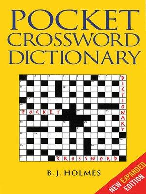 crossword dictionary com