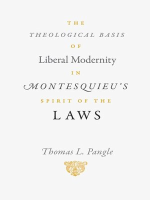 an analysis of montesquieus the spirit of laws Montesquieu's theory regarding separation of powers greatly influenced the founding fathers in drafting the constitution although he published other works as well, his most influential volume was the spirit of the laws (1748.