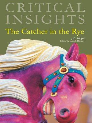 Catcher in the rye online book pdf