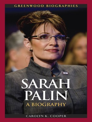 sarah palin biography essay Biography & memoir business & economy  sarah palin and feminism's rightward path some feminists have had a hard time accepting republican vice presidential candidate sarah palin as a symbol of .