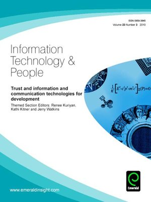 Information Technology & People, Volume 23, Issue 3 by ...