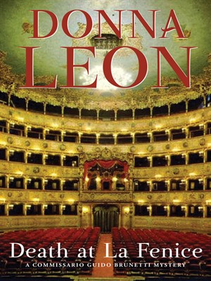 Cover image for Death at La Fenice