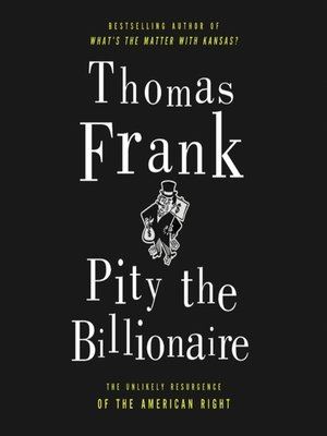 Cover image for Pity the Billionaire.