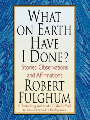 robert fulghum essays All i really need to know i learned in kindergarten summary all i really need to know i learned in kindergarten: uncommon thoughts on common things by robert fulghum is series of personal essays on a wide variety of topics.