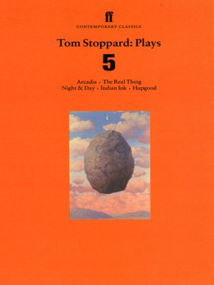 """a literary analysis of arcadia by tom stoppard Tom stoppard's indian ink  it has been overshadowed by the greatness of its near contemporaries arcadia  in return for lecturing on """"literary."""