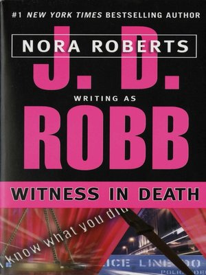 Witness in Death (In Death #10)(2) by J.D. Robb