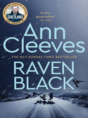 Cover image for Raven Black