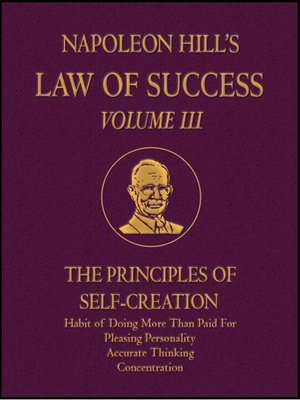 napoleon hill law of success pdf free download
