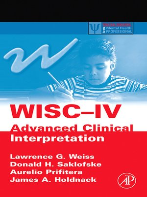 how to read wisc iv scores