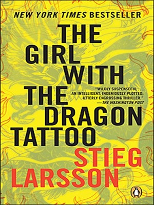 The girl with the dragon tattoo by stieg larsson for The girl with the dragon tattoo books