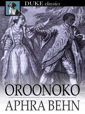 An analysis of death in oroonoko in aphra behn