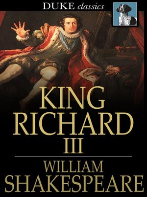 the isolation of the character in william shakespeares richard iii Find all available study guides and summaries for richard iii by william shakespeare if there is a sparknotes, shmoop, or cliff notes guide, we will have it listed here.