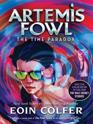 artemis fowl the time paradox epub