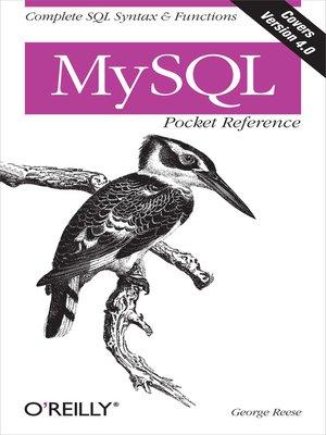 REILLY COOKBOOK O PDF SQL