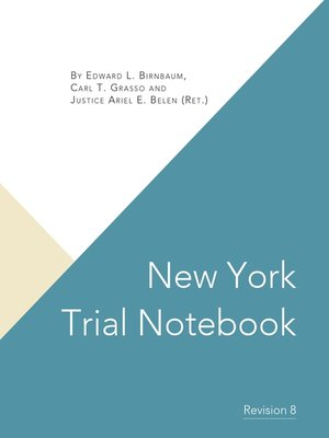 Basic Resources New York Civil Practice Research Guides At