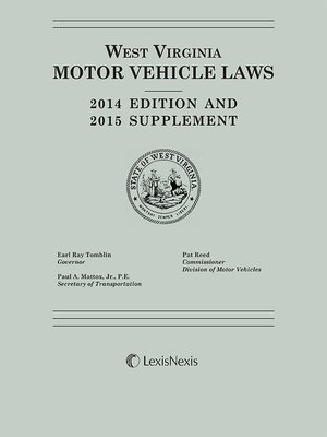 West virginia motor vehicle laws by publisher 39 s editorial for Virginia department of motor vehicle