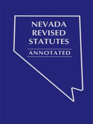 Nevada Revised Statutes >> Michie's Nevada Revised Statutes Annotated State Court Rules · OverDrive: eBooks, audiobooks and ...