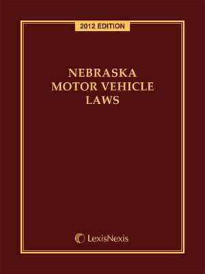Nebraska overdrive ebooks audiobooks and videos for for Iowa motor vehicle laws
