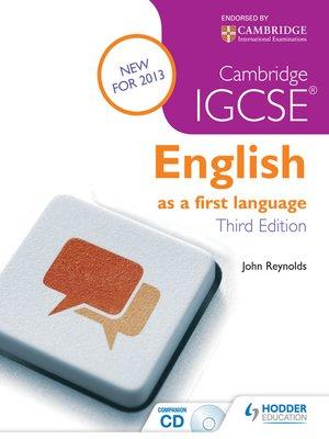 cambridge igcse english language 0522 coursework