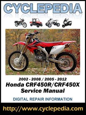 2005 honda crf230f service manual