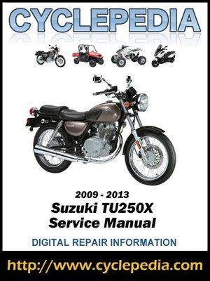 suzuki tu 250 owners manual