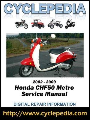 honda es6500 wiring diagram honda chf50 metropolitan 2002-2009 service manual by ... #14