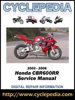 2003 honda blackbird service manual
