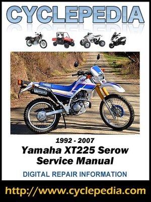 yamaha moto 4 225 service manual