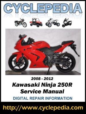Kawasaki ninja 250r service manual