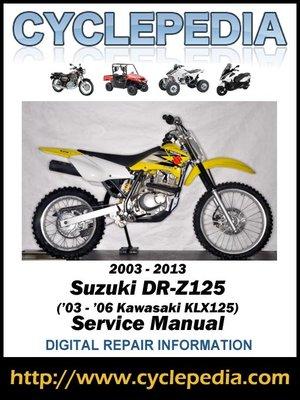 1988 suzuki dr 125 workshop manual