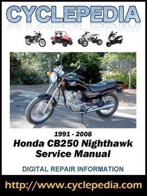 honda cb250 service manual 1980