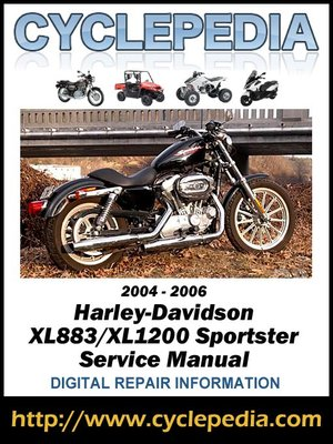 harley davidson xl883  xl1200 sportster 2004 2006 service 2004 harley davidson road king service manual 2004 harley davidson softail service manual