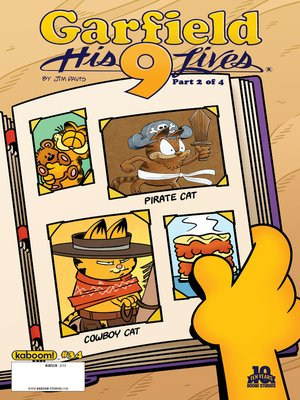 garfield his 9 lives ebook