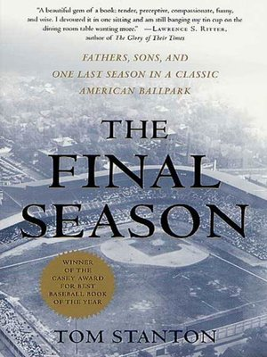 Image result for the final season stanton