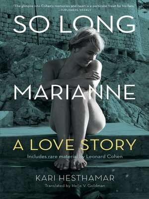 Cover of So Long, Marianne