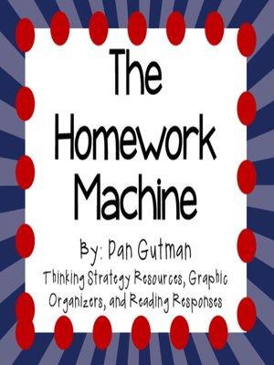 the homework machine by dan gutman audiobook