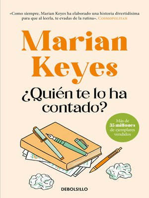 qui n te lo ha contado by marian keyes overdrive ebooks audiobooks and videos for libraries. Black Bedroom Furniture Sets. Home Design Ideas