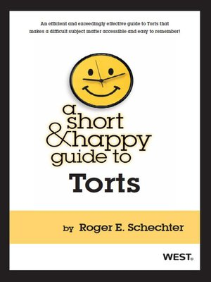 Digital collection browse a short and happy guide to torts fandeluxe Images