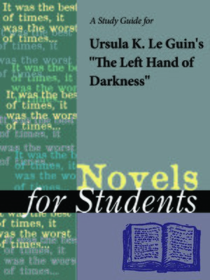 an analysis of the left hand of darkness a novel by ursula leguin Numerous conflicts come to mind in ursula leguin's the left hand of darkness, but the one in particular that dominates the novel centers on cultural proficiency cultural proficiency goes beyond.
