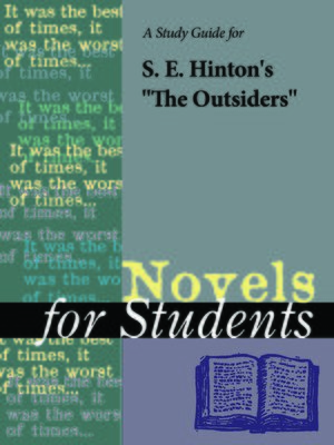 an analysis of s e hintons book the outsiders The outsiders: character analysis of  get free homework help on se hintons the outsiders: book summary, chapter summary and analysis, quotes, essays,.